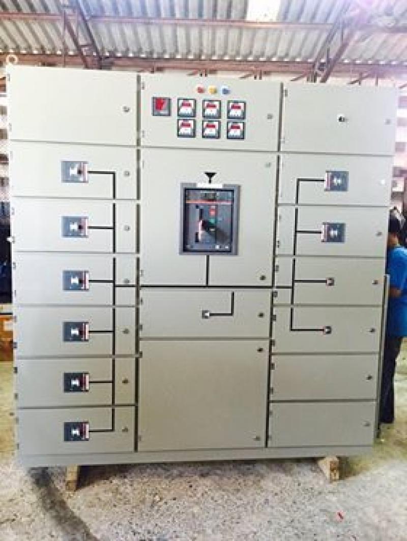 ผลิตตู้คอนโทรลควบคุมไฟฟ้า MDB (Main Distribution Board) ตู้สวิทซ์บอร์ด ตู้เมนไฟฟ้า มาตรฐานการไฟฟ้า